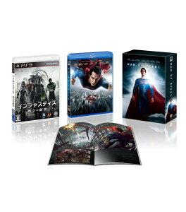 『マン・オブ・スティール』&『インジャスティス:神々(ヒーロー)の激突』ハイブリッドパック【3,000セット限定生産】【Blu-ray】
