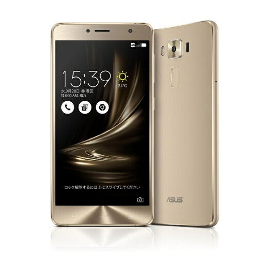 ZenFone3 Deluxe ゴールド ZS550KL-GD64S4(5.5inch/Android 6.0.1/Qualcomm Snapdragon 625(Octa-c...