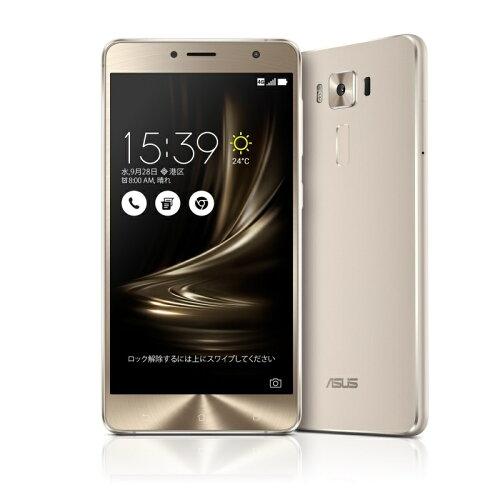 ZenFone3 Deluxe シルバー ZS550KL-SL64S4(5.5inch/Android 6.0.1/Qualcomm Snapdragon 625(Octa-c...