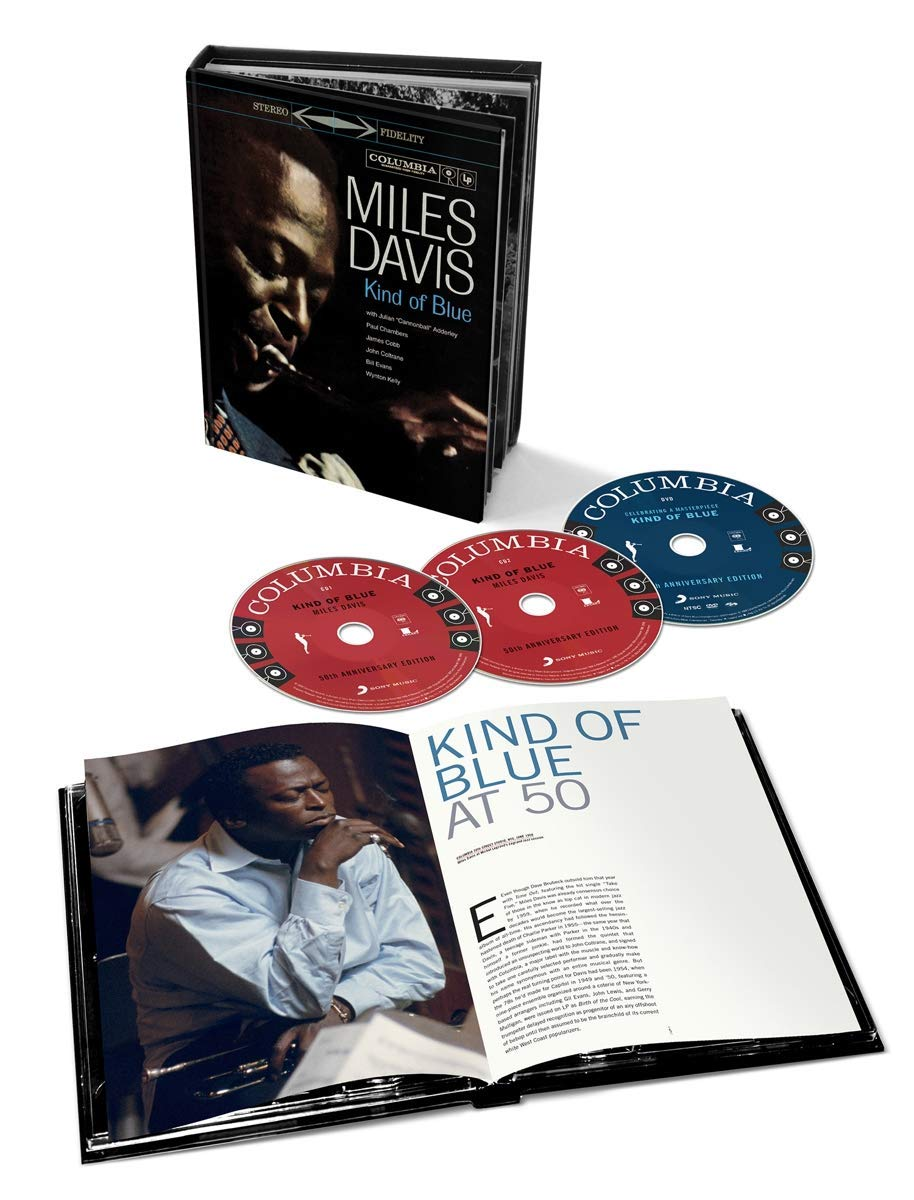 【輸入盤】Kind Of Blue Deluxe 50th Anniversary Collector's Edition: (Bookset)(2CD+1DVD)画像