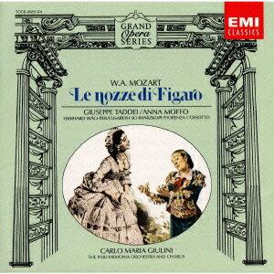 【送料無料】モーツァルト:「フィガロの結婚」全曲 [ カルロ・マリア・ジュリーニ ]