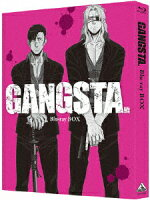 GANGSTA. Blu-ray BOX【Blu-ray】