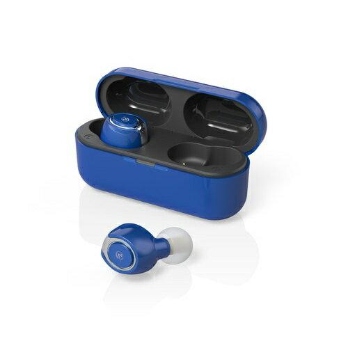 M-SOUNDS 完全ワイヤレス両耳カナル型Bluetoothイヤホン MS-TW11 コバルトブルー