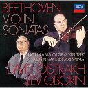ベートーヴェン:ヴァイオリン・ソナタ第5番≪春≫・第9番≪クロイツェル≫ [ ダヴィッド・オイストラ