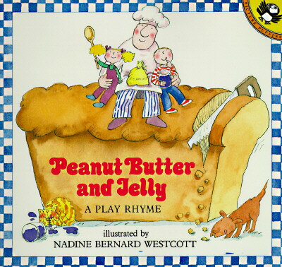 洋書, FAMILY LIFE & COMICS Peanut Butter and Jelly: A Play Rhyme PBJ Puffin Unicorn Nadine Bernard Westcott