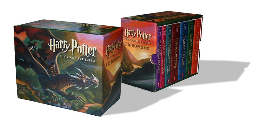 洋書, BOOKS FOR KIDS Harry Potter Paperback Boxed Set: Books 1-7 BOXED-HARRY POTTER PB BOXED 7V Harry Potter J. K. Rowling