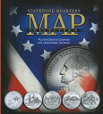 STATEHOOD QUARTERS COLLECTOR'S MAP(H) [ WHITMAN PUBLISHING ]