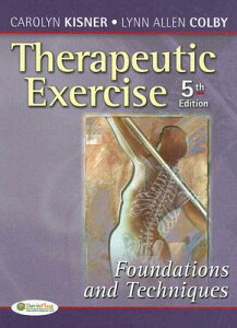 【送料無料】Therapeutic Exercise: Foundations and Techniques