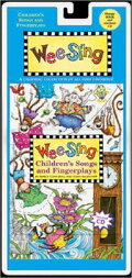 WEE SING CHILDREN'S SONGS&FINGER(W/CD)(P