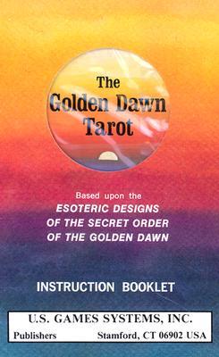 洋書, SOCIAL SCIENCE Golden Dawn Tarot Deck: Based Upon the Esoteric Designs of the Secret Order of the Golden Dawn TAROT DECK-GOLDEN DAWN Robert Wang