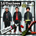 LGYankees(エルジーヤンキース)の「Good Luck Homies feat. 山猿」を収録したアルバム「MADE IN LGYankees」のジャケット写真。