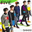 送料無料/〔予約〕FIVE(通常盤)/SHINee