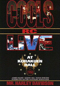 ライヴ・アット・後楽園ホール IN 1980/COOLS R,C,【1000円以上送料無料】