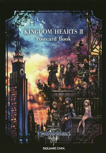 ゲーム, その他 KINGDOM HEARTS 3 Postcard Book1000