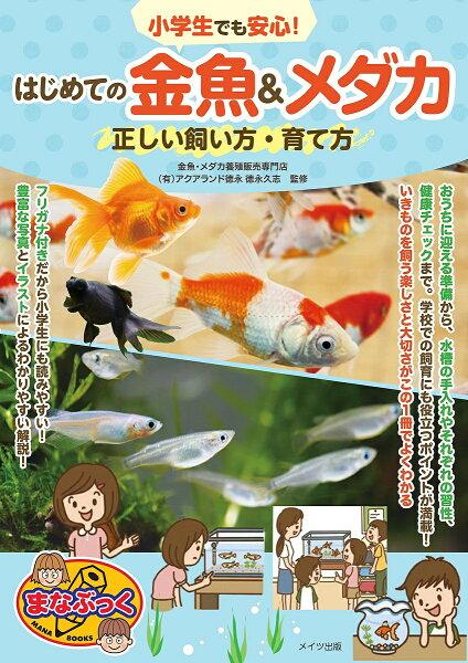 小学生でも安心 はじめての金魚&メダカ正しい飼い方・育て方/徳永久志 1000円以上