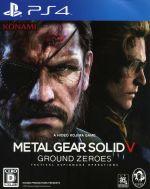 プレイステーション4, ソフト  METAL GEAR SOLID5GROUND ZEROES PS4 afb