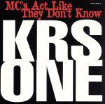 【中古】 【輸入盤】Mcs Act Like They Don't Know /KRS−ONE 【中古】afb