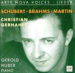 【中古】 【輸入盤】Schubert/Brahms/Martin: Lieder /ChristianGerhaher(Baritone),FrankMartin 【中古】afb