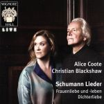 【中古】 【輸入盤】Schumann: Lieder /Schumann, Alice Coote 【中古】afb
