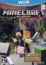 【中古】Minecraft:WiiUEDITION/WiiU【中古】afb
