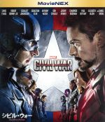 中古 シビル・ウォー/キャプテン・アメリカMovieNEXブルーレイ+DVDセット(Blu−rayDisc)/アベンジャーズシ