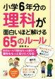 【中古】 小学6年分の理科が面白いほど解ける65のルール Asuka business & language book/倉橋修(著者) 【中古】afb