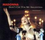 【中古】 【輸入盤】DON'T CRY FOR ME ARGENTINA /マドンナ 【中古】afb