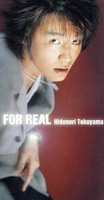 【中古】 【8cm】FOR REAL /徳山秀典 【中古】afb
