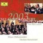 【中古】 ニューイヤー・コンサート 2003 /ニコラウス・アーノンクール,ウィーン・フィルハーモニー管弦楽団 【中古】afb