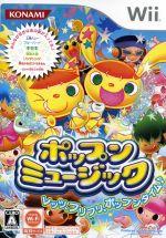 【中古】 ポップンミュージック /Wii 【中古】afb