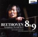 【中古】 ベートーヴェン:交響曲第8番&第9番「合唱」 /小林研一郎(cond)