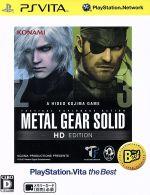プレイステーション・ヴィータ, ソフト  METAL GEAR SOLID HD PlayStationVita the Best PSVITA afb
