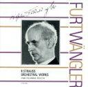 【中古】 R.シュトラウス:管弦楽曲集 /W.フルトヴェングラー 【中古】afb