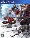 【中古】 イースIX −Monstrum NOX− /PS4 【中古】afb
