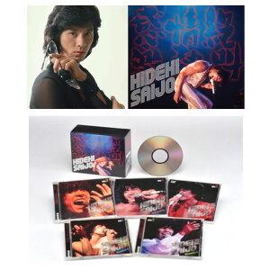 絶叫・情熱・感激、西城秀樹、CDボックス、CD4枚、DVD1枚、ソニー・ミュージックダイレクト、[...