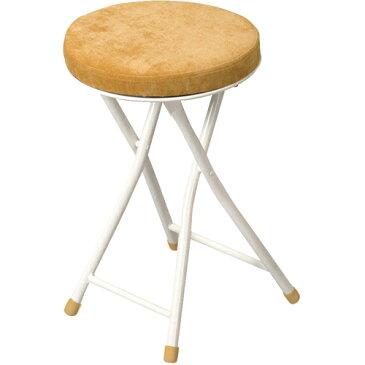 完成品 折りたたみ スツール 丸 円形 ダイニング キッチン 折りたたみスツール ロンダ イエロー ダイニングチェア キッチンチェア カウンターチェア ダイニングチェアー カウンターチェア 折りたたみイス 折りたたみいす 折りたたみ椅子 いす イス 椅子 pc-31ye