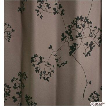ディズニー Standard Collection ミッキー MICKEY/Twig leaf トウィッグリーフ ドレープカーテン 100×135cm パープル M-1003-PU
