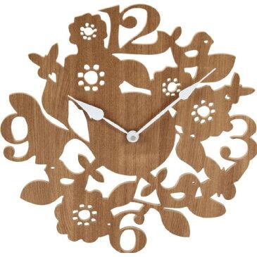 壁掛け時計 フォレスト ナチュラル b-56923