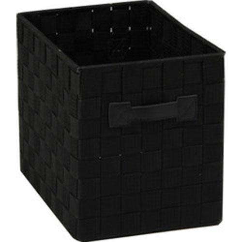 収納バスケット C ブラック 【6個セット】 b-75751