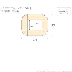 送料無料はっ水リバーシブル省スペースこたつ布団モルフ120×80cmこたつ用(228×188)こたつ布団長方形省スペース21101614