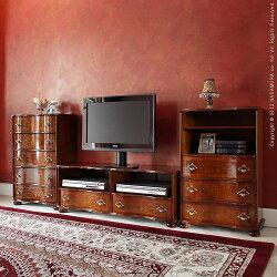 ヴェローナクラシック丸脚テレビボード幅110cm42200009