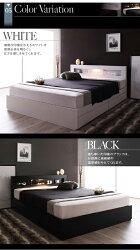 引き出し付きベッドシングルベッド収納ベッド照明付きEstadoエスタードボンネルコイルマットレス:レギュラー付きシングルサイズベットマットレス付き収納付きベッドベッド下収納棚付きコンセント付きライト付きLEDライト引出し付き