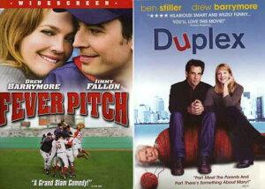 送料無料【中古】Duplex , Fever Pitch : Drew Barrymore Comedy 2 Pack Collection [DVD]