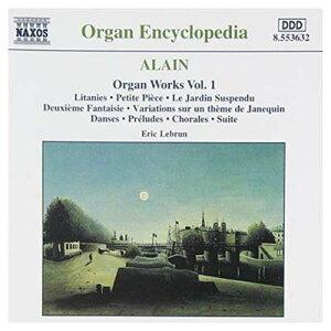 USED【送料無料】Organ Works 1 [Audio CD] Jehan Alain and Eric Lebrun