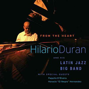 USED【送料無料】From the Heart [Audio CD] Duran, Hilario and His Latin Jazz Big Band