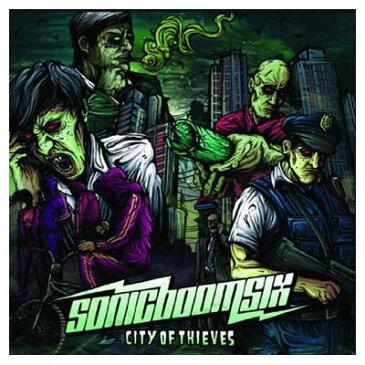 USED【送料無料】シティ・オブ・スィーヴス [Audio CD] ソニック・ブーム・シックス