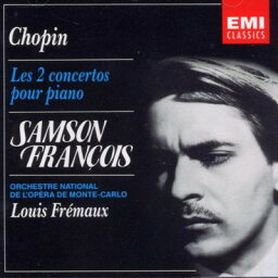 送料無料【中古】Les 2 Concertos Pour Piano [Audio CD] Chopin, F.