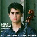 送料無料【中古】Cello Sonata: 石坂団十郎(Vc)helmchen(P) +mendelssohn, Britten [Audio CD] Franck フランク