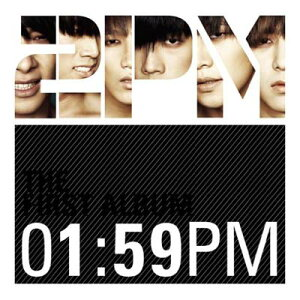 USED【送料無料】01:59PM ~JAPAN SPECIAL EDITION~【初回生産限定盤】(DVD付) [Audio CD] 2PM