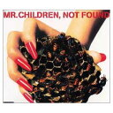 USED【送料無料】NOT FOUND [Audio CD] Mr.Children; 桜井和寿 and 小林武史